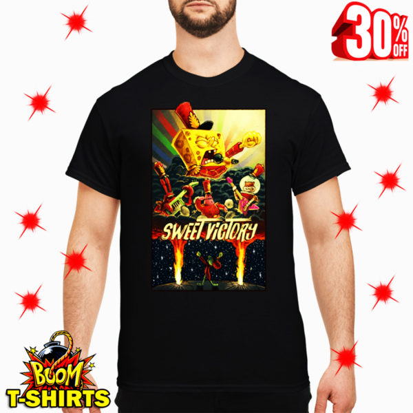 Sweet Victory SpongeBob SquarePants shirt
