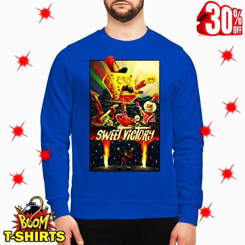 Sweet Victory SpongeBob SquarePants sweatshirt