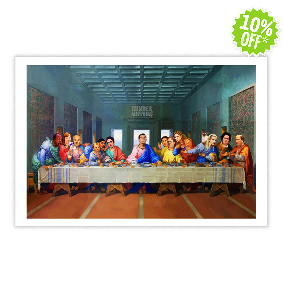 The Last Supper at Dunder Mifflin 24x16 poster