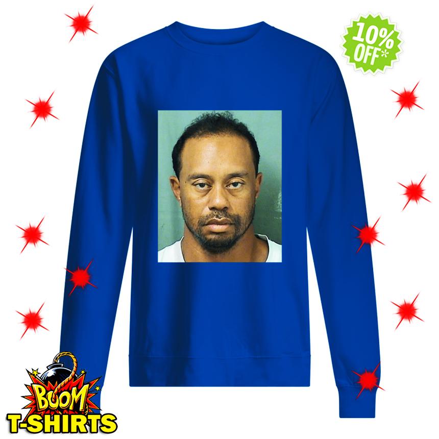 Tiger's mugshot sweatshirt