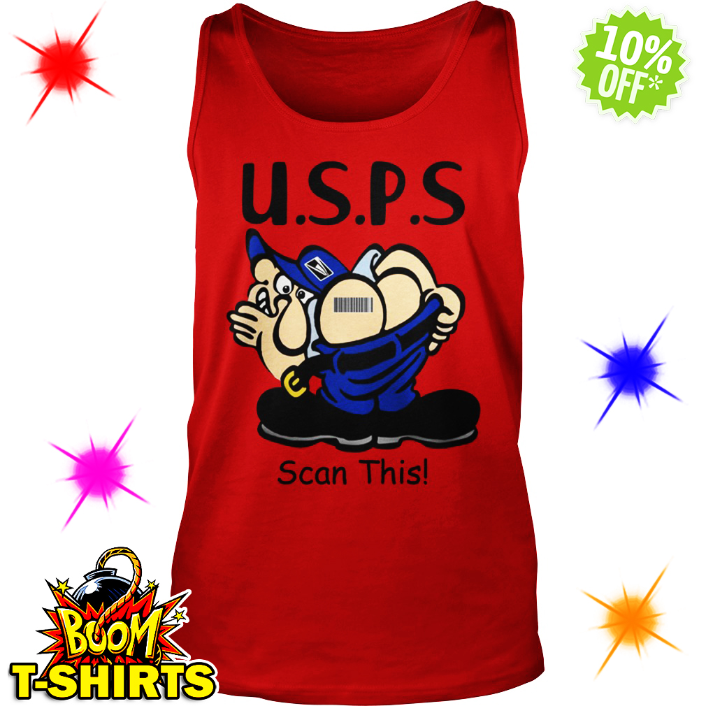 USPS Scan This tank top