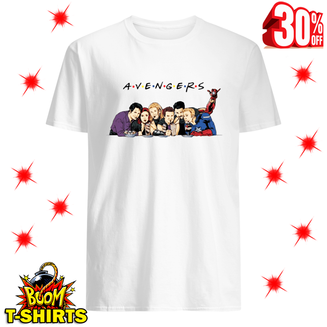 A.V.E.N.G.E.R.S Avengers Friends Parody shirt