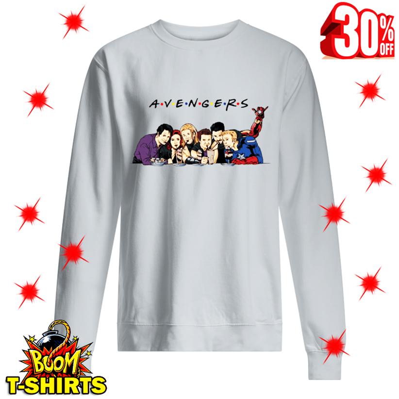 A.V.E.N.G.E.R.S Avengers Friends Parody sweatshirt