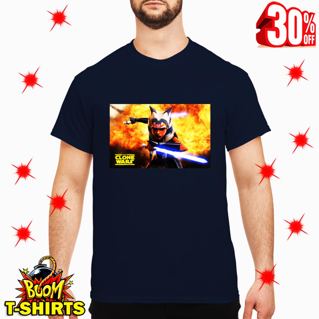 Ahsoka Tano Star Wars The Clone Wars shirt
