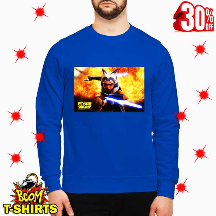 Ahsoka Tano Star Wars The Clone Wars sweatshirt