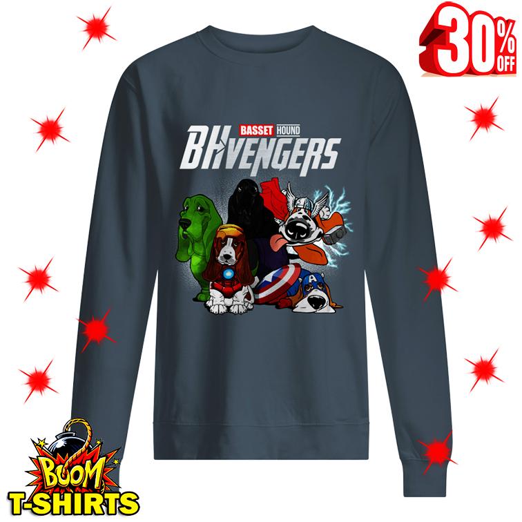 Basset Hound Bhvengers sweatshirt