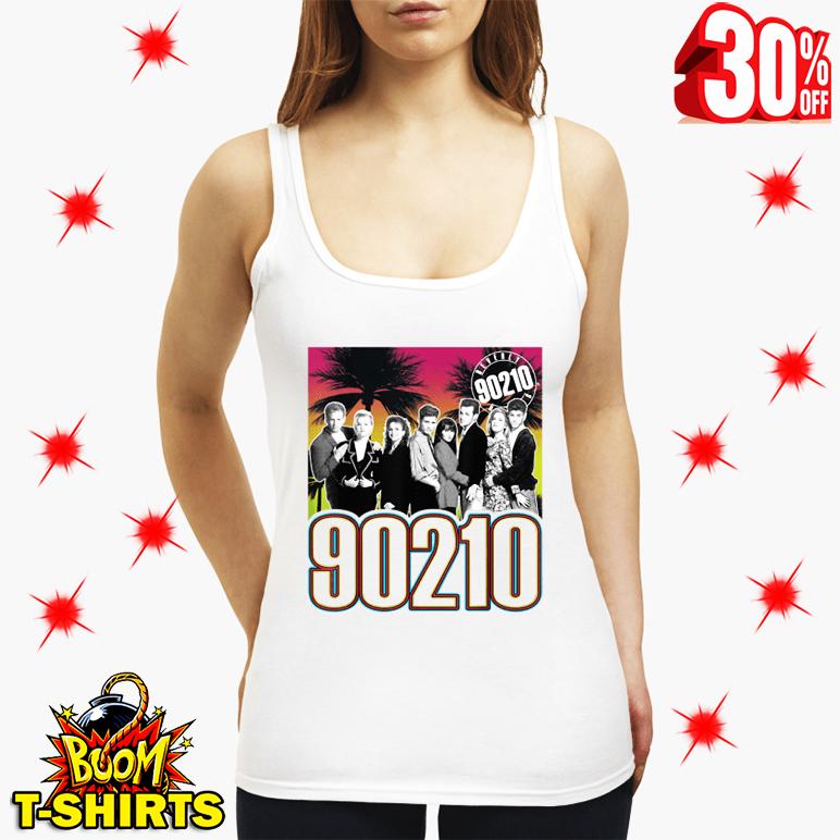 Beverly Hills 90210 Full Cast tank top