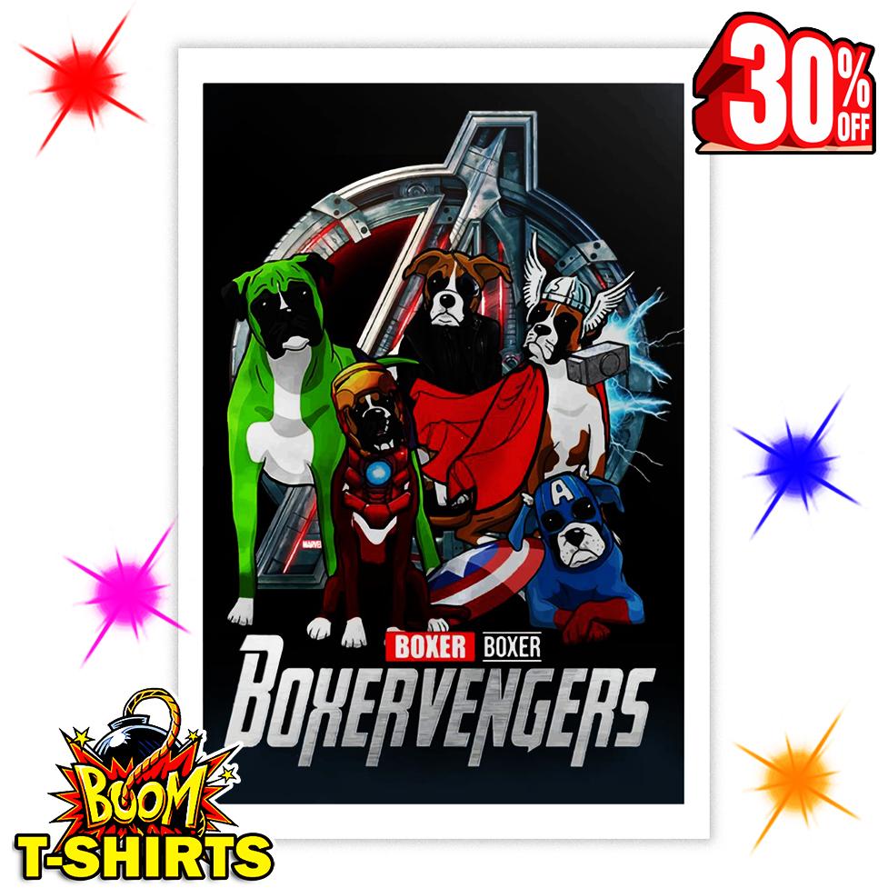 Boxer Boxervengers Avengers Endgame 11x17 Poster