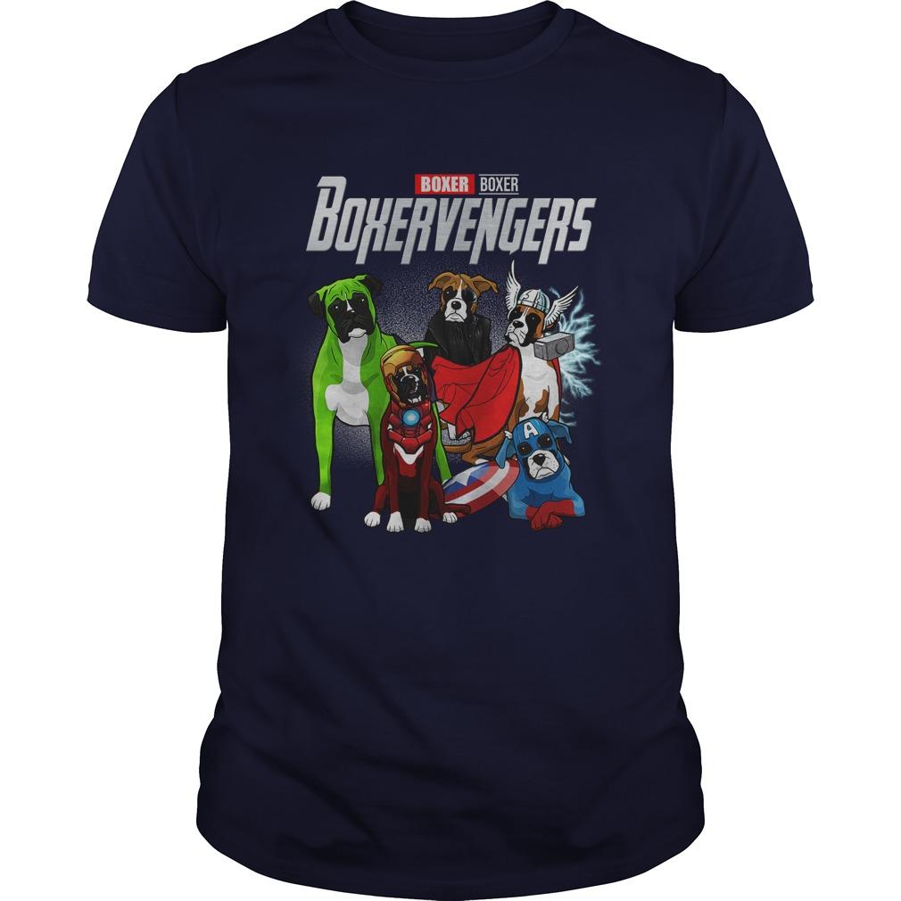 Boxer Boxervengers Avengers Endgame shirt