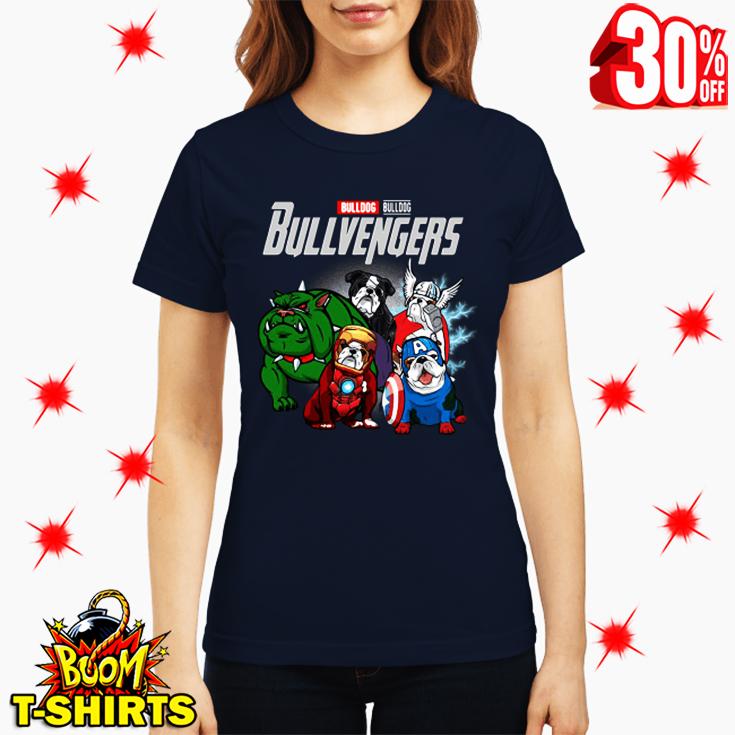 Bulldog Bullvengers Avengers Endgame lady shirt