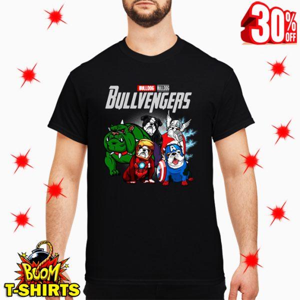 Bulldog Bullvengers Avengers Endgame shirt