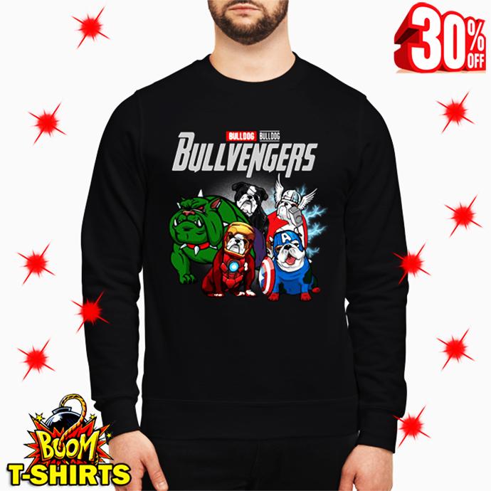 Bulldog Bullvengers Avengers Endgame sweatshirt
