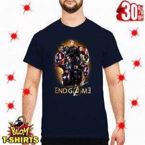 Captain America Avengers Endgame Signature shirt