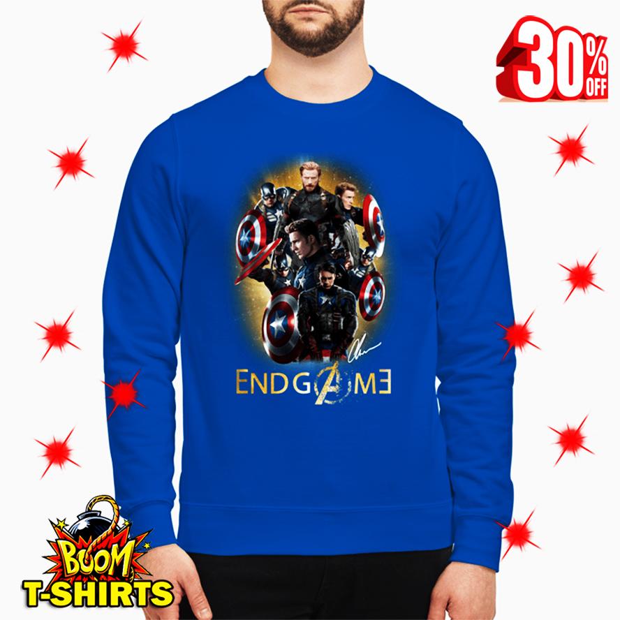 Captain America Avengers Endgame Signature sweatshirt