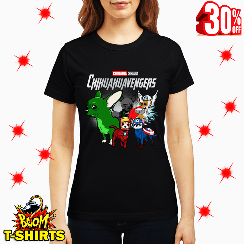 Chihuahua Chihuahuavengers Avengers lady shirt