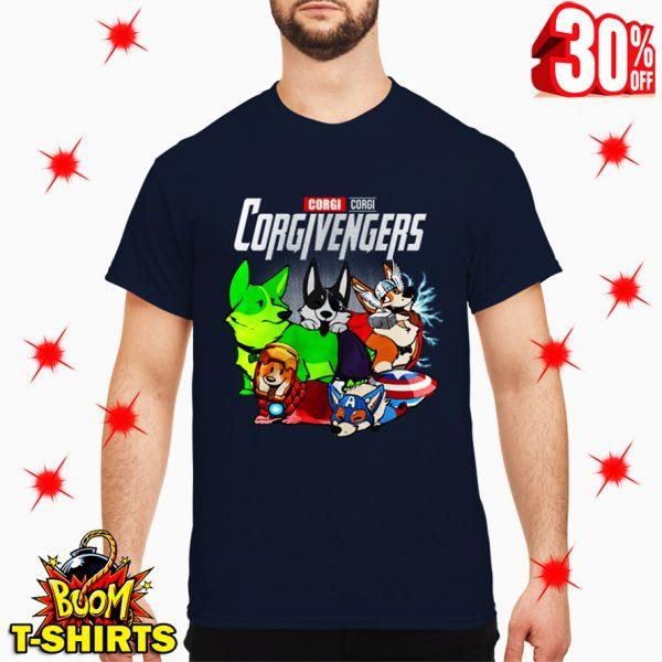 Corgi Corgivengers Avengers shirt