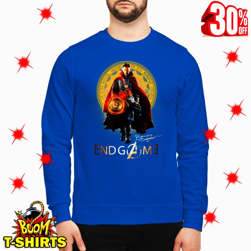 Doctor Strange Avengers Endgame Signature sweatshirt
