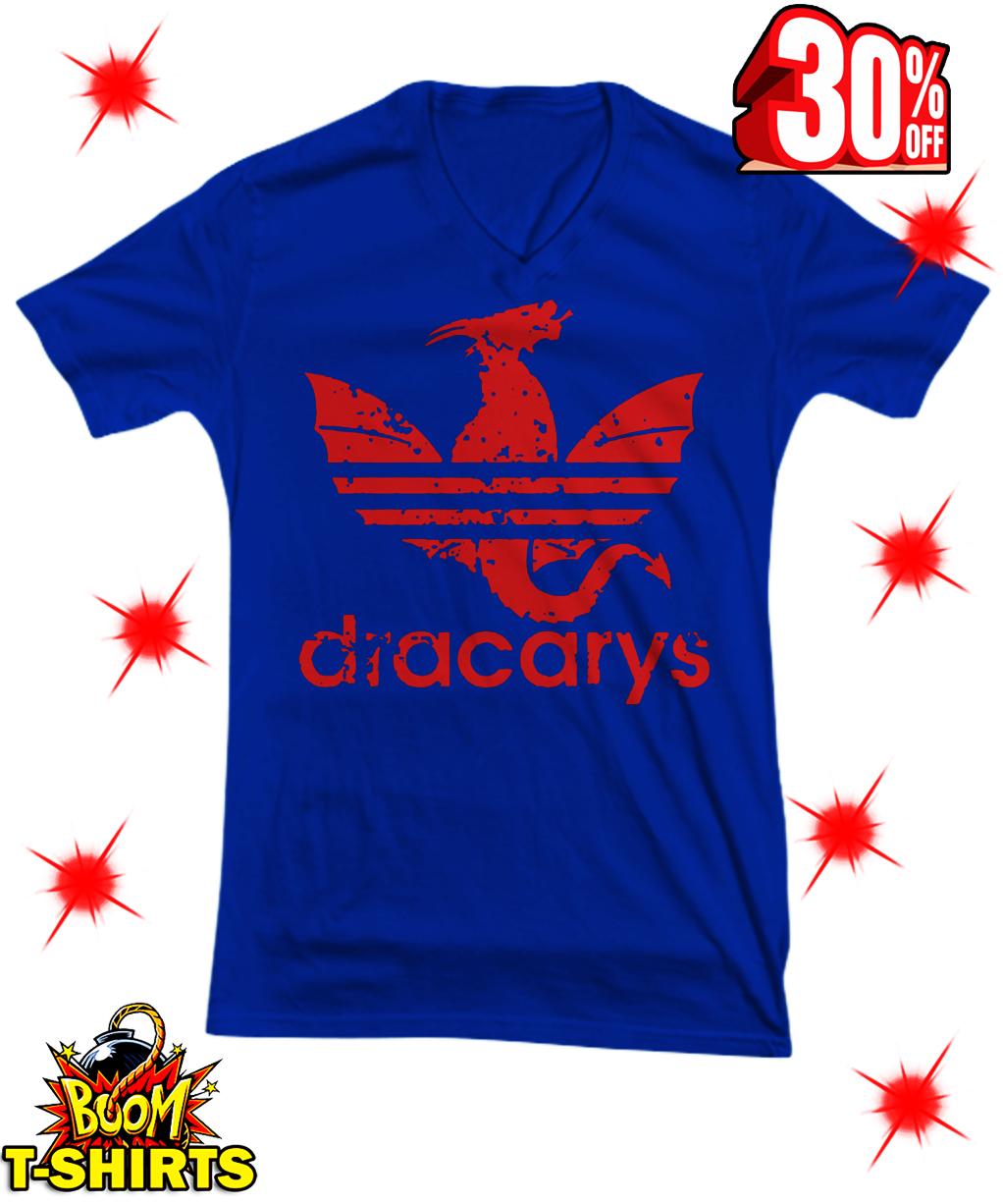 Dracarys Adidas v-neck