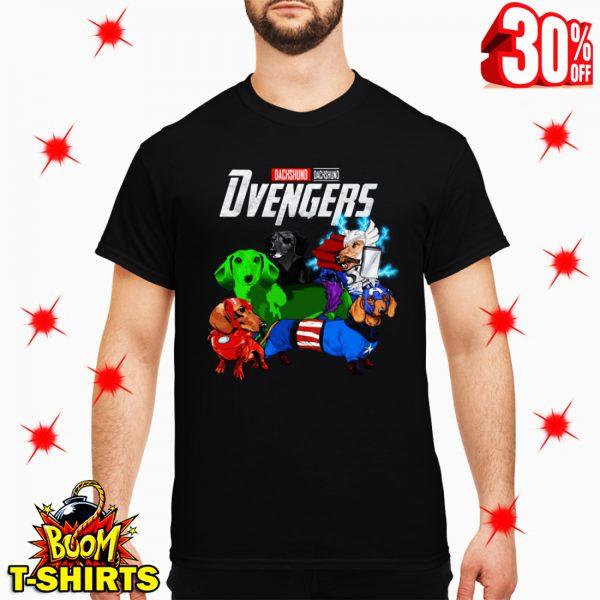 Dvengers Dachshund Avengers shirt