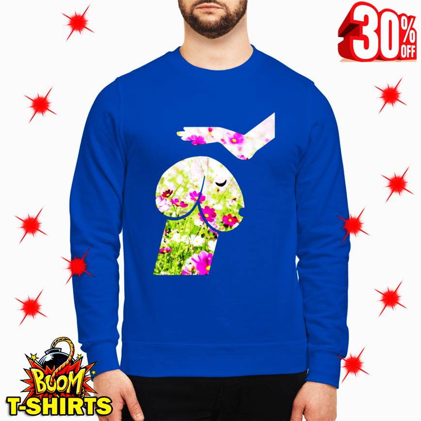Floral Dickhead Dog Noma Bar Mans True Best Friend sweatshirt