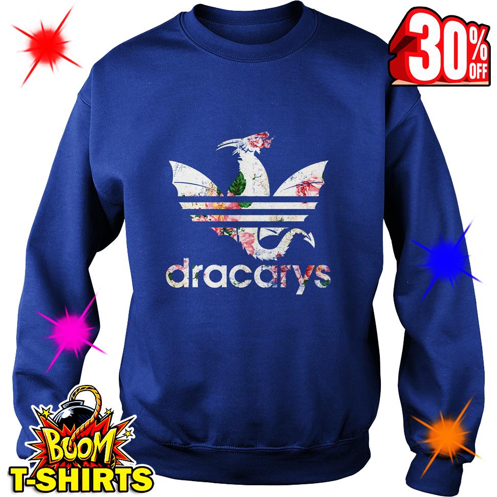 Flower Dracarys Adidas Game Of Thrones sweatshirt