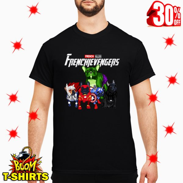 Frenchievengers French Bulldog Avengers shirt