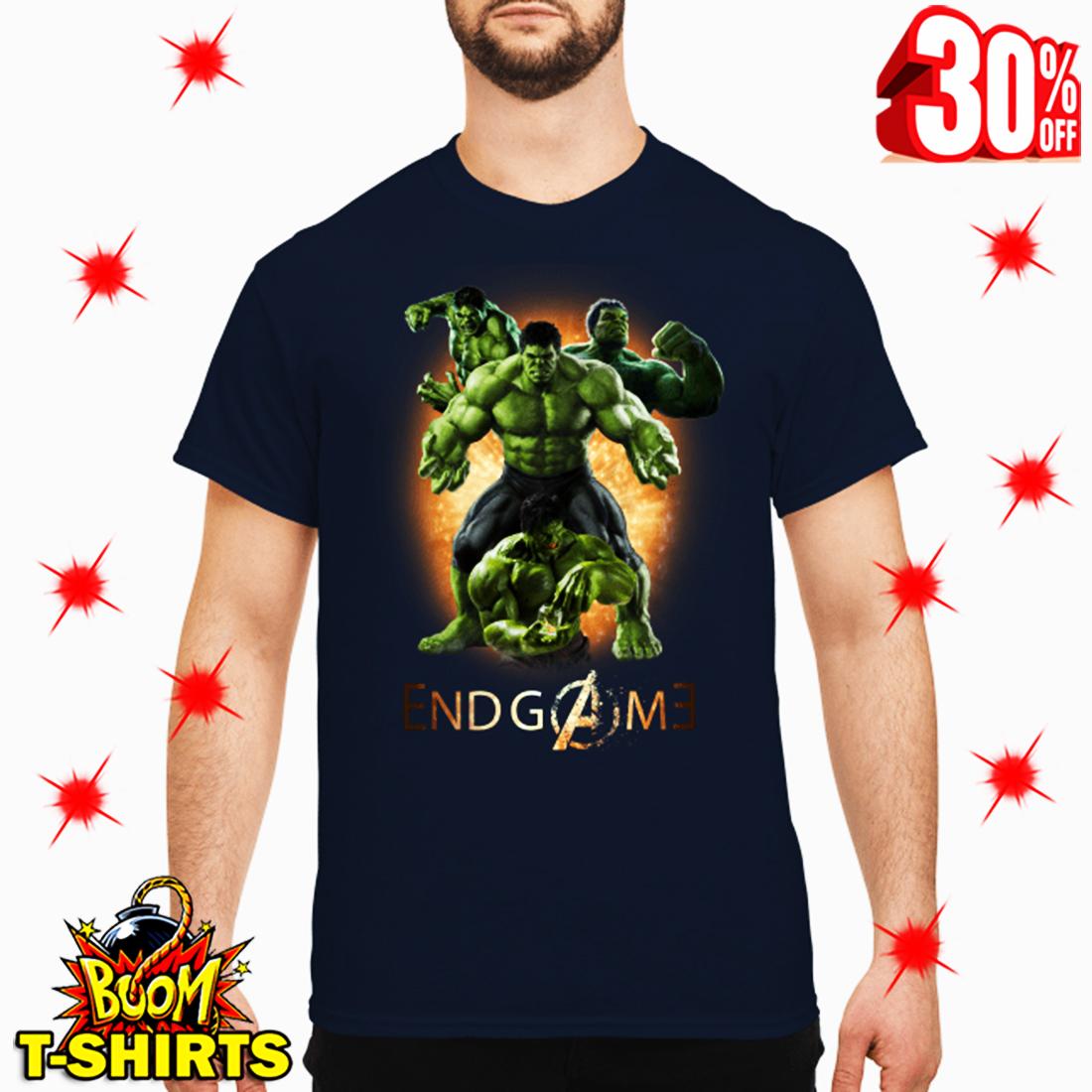 Hulk Avengers Endgame Signature shirt