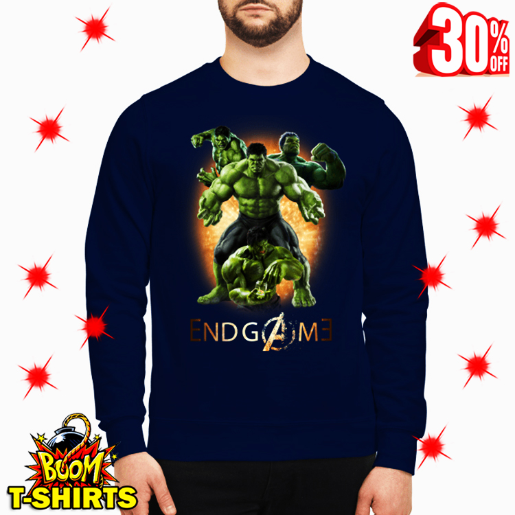 Hulk Avengers Endgame Signature sweatshirt