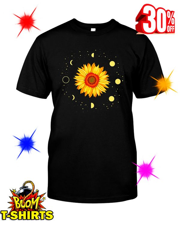 Moon Phases Sunflower shirt