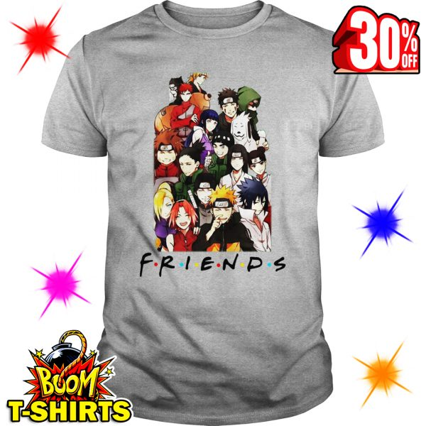 Naruto Friends Parody shirt