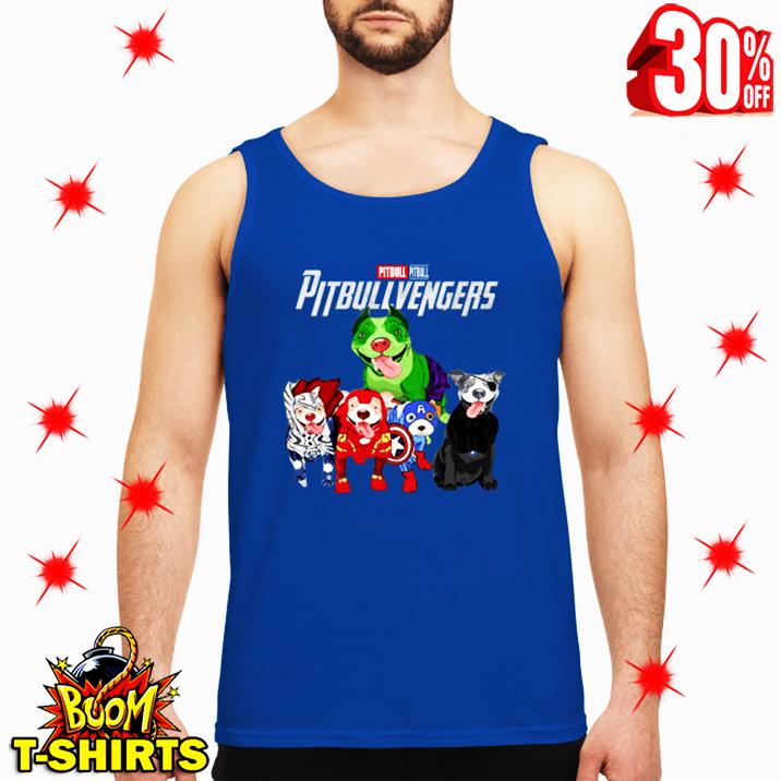 Pitbull Pitbullvengers Avengers tank top