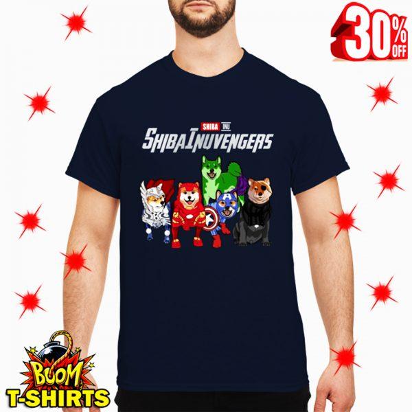 Shiba Inu Shibainuvengers Avengers shirt