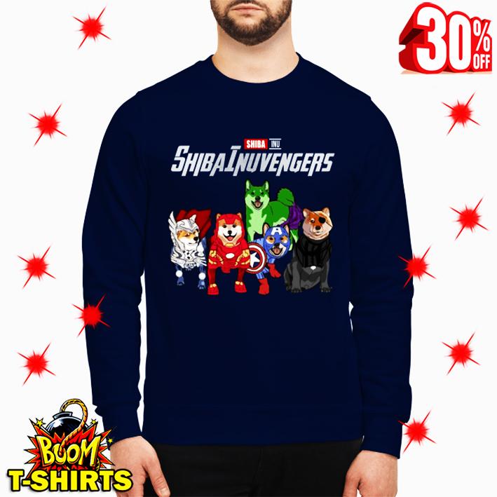 Shiba Inu Shibainuvengers Avengers sweatshirt