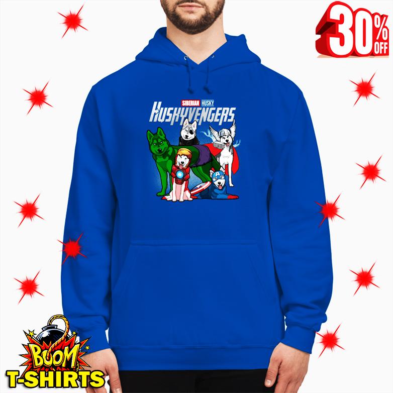 Siberian Husky Huskyvengers Avengers hoodie