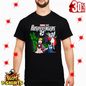 Siberian Husky Huskyvengers Avengers shirt