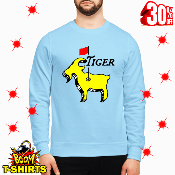 Tiger woods goat masters sweatshirt