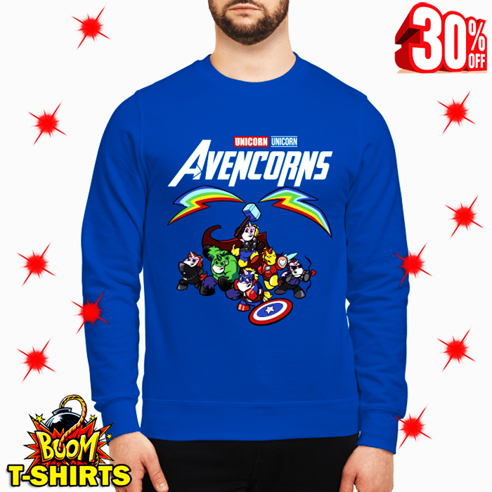 Unicorn Avencorns Avengers Endgame sweatshirt