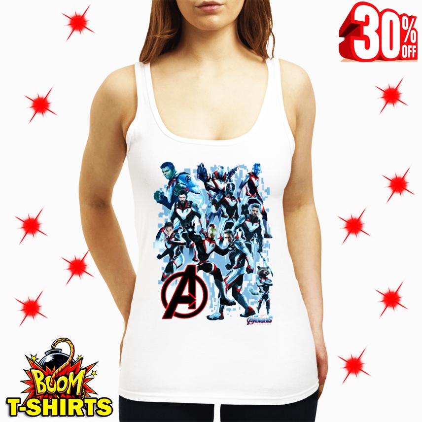 Uniform Avengers Suits Endgame men tank top