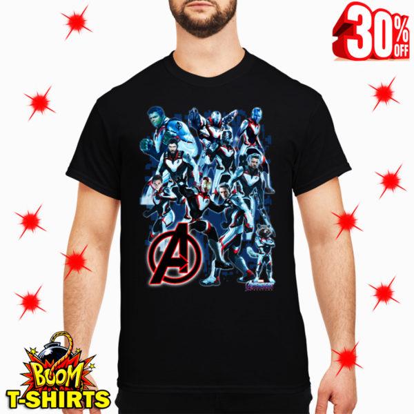 Uniform Avengers Suits Endgame shirt