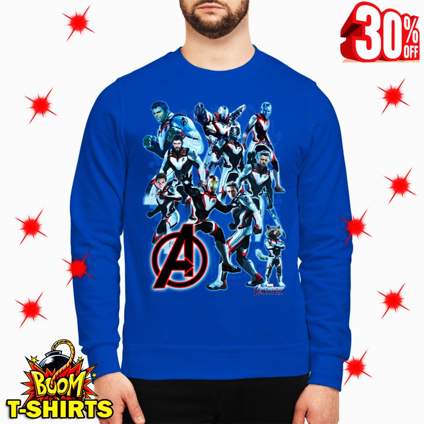 Uniform Avengers Suits Endgame sweatshirt
