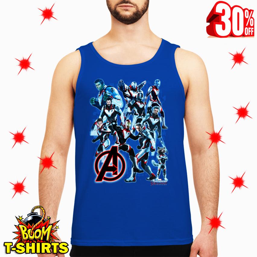 Uniform Avengers Suits Endgame tank top