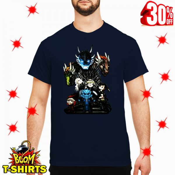 Who Will Be The King Game of Thrones Chibi shirt