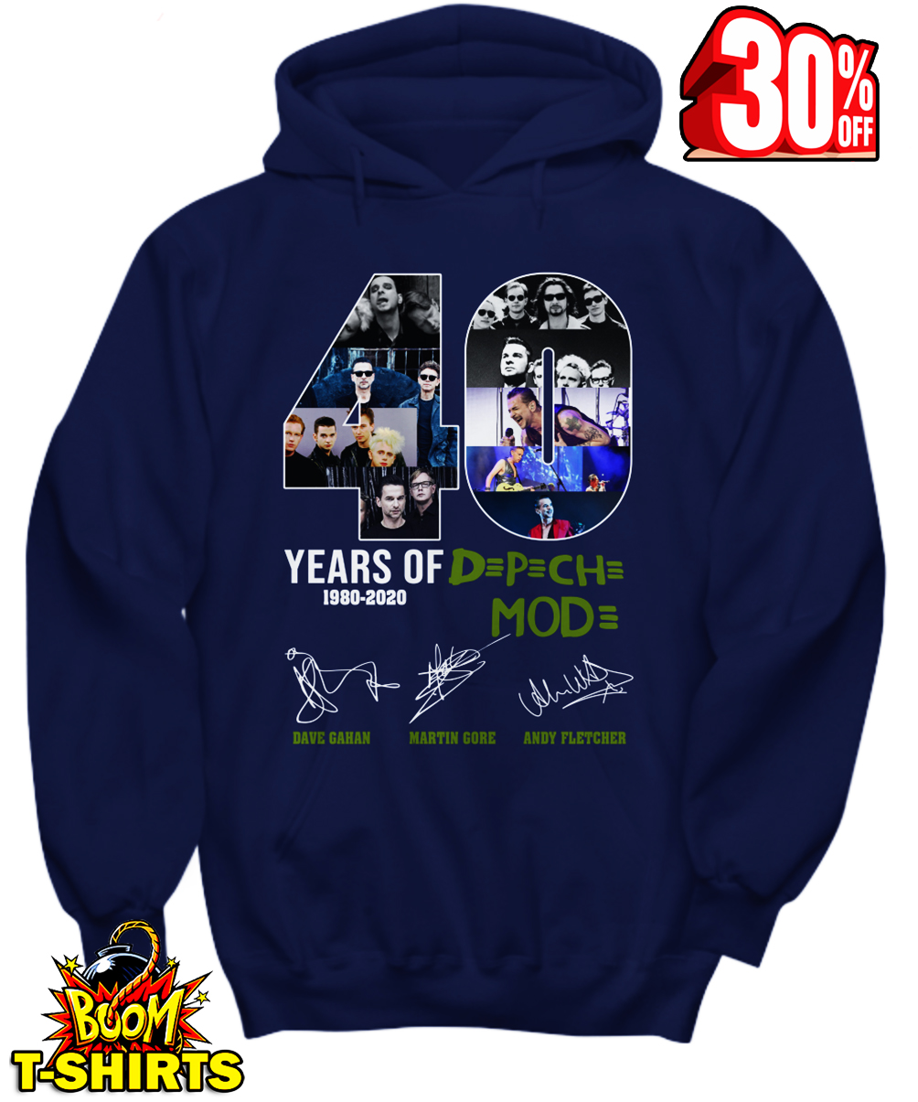 40 Years of Dpch Mod 1980 2020 Signature hoodie
