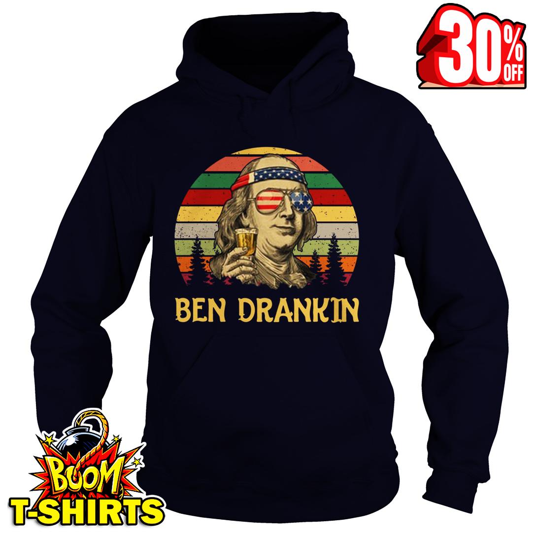 Benjamin Franklin 4th Of July hoodie