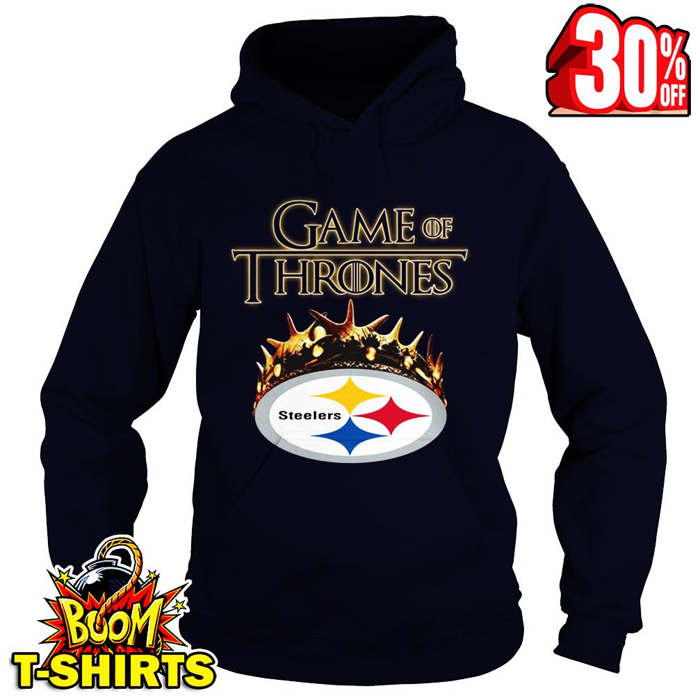 Game Of Thrones Crown Steelers hoodie