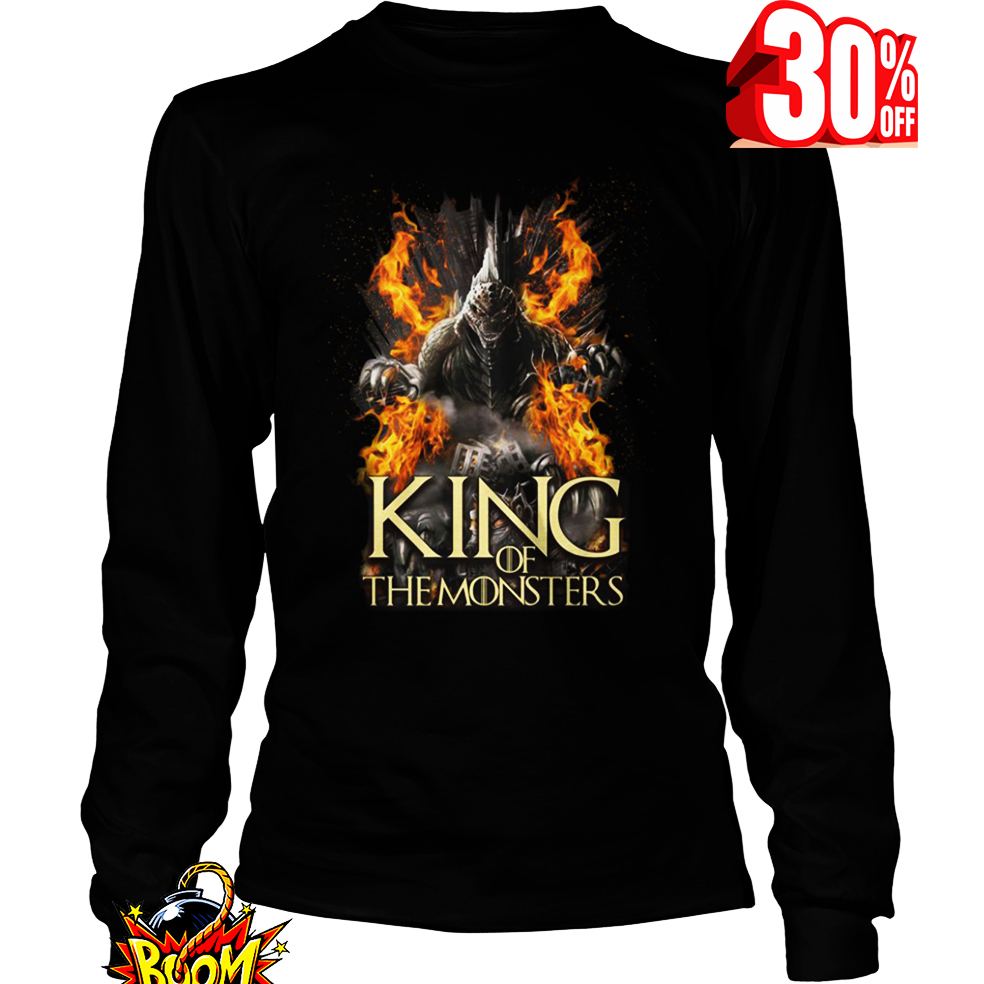Godzilla King of the Monsters Game Of Thrones long sleeve tee