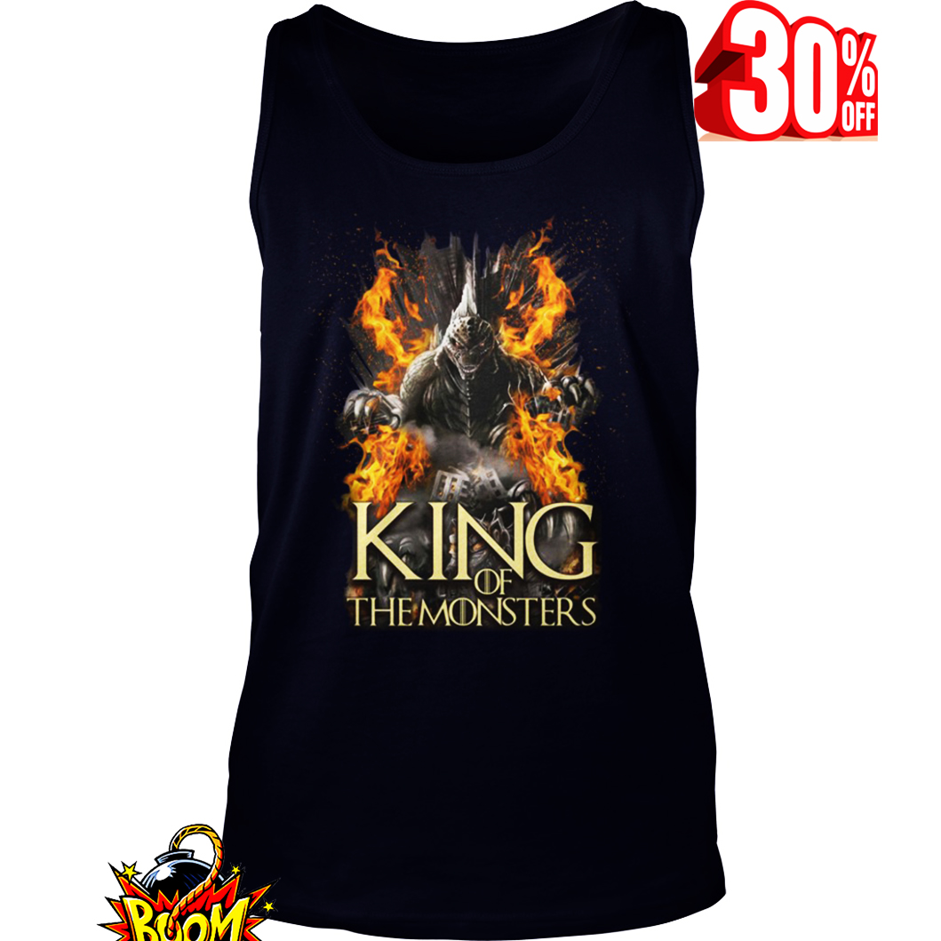 Godzilla King of the Monsters Game Of Thrones tank top