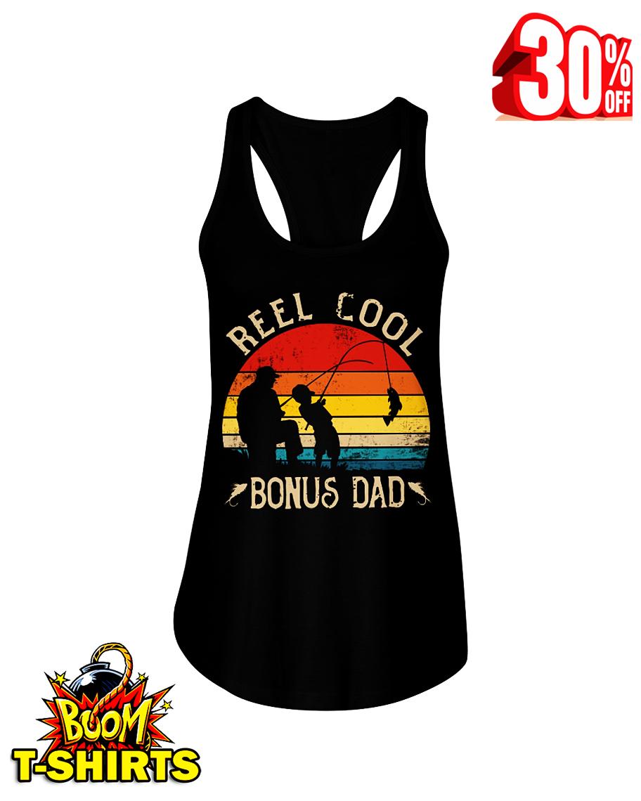 Reel cool bonus dad fishing flowy tank
