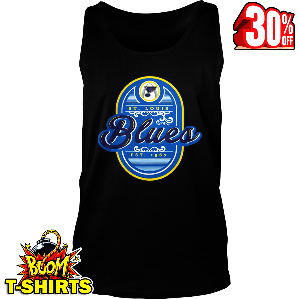 St Louis Hockey 2019 We Want The Cup Playoffs tank top