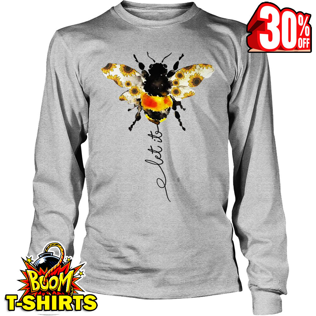 Sunflower Let It Bee long sleeve tee